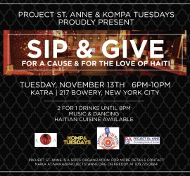 SIP & GIVE
